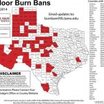 Lubbock Burn Ban Delayed As County Hopes For Rain   Texas Burn Ban Map