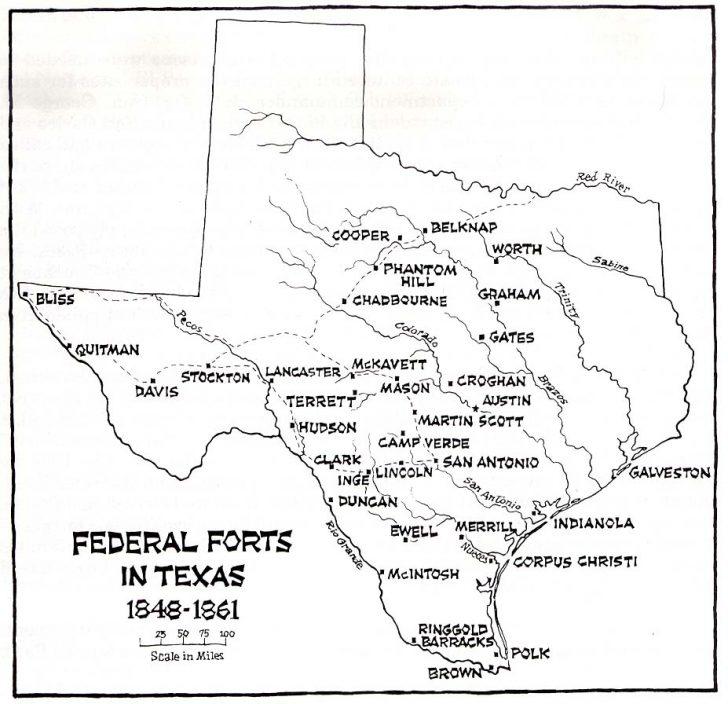Luckenbach Texas Map