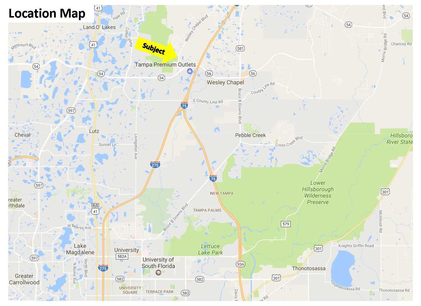 Lutz Florida Map - Lutz Florida Map