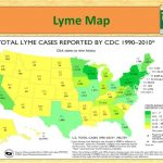 Lyme Disease Prevention And Education   Ppt Download   Lyme Disease In Florida Map
