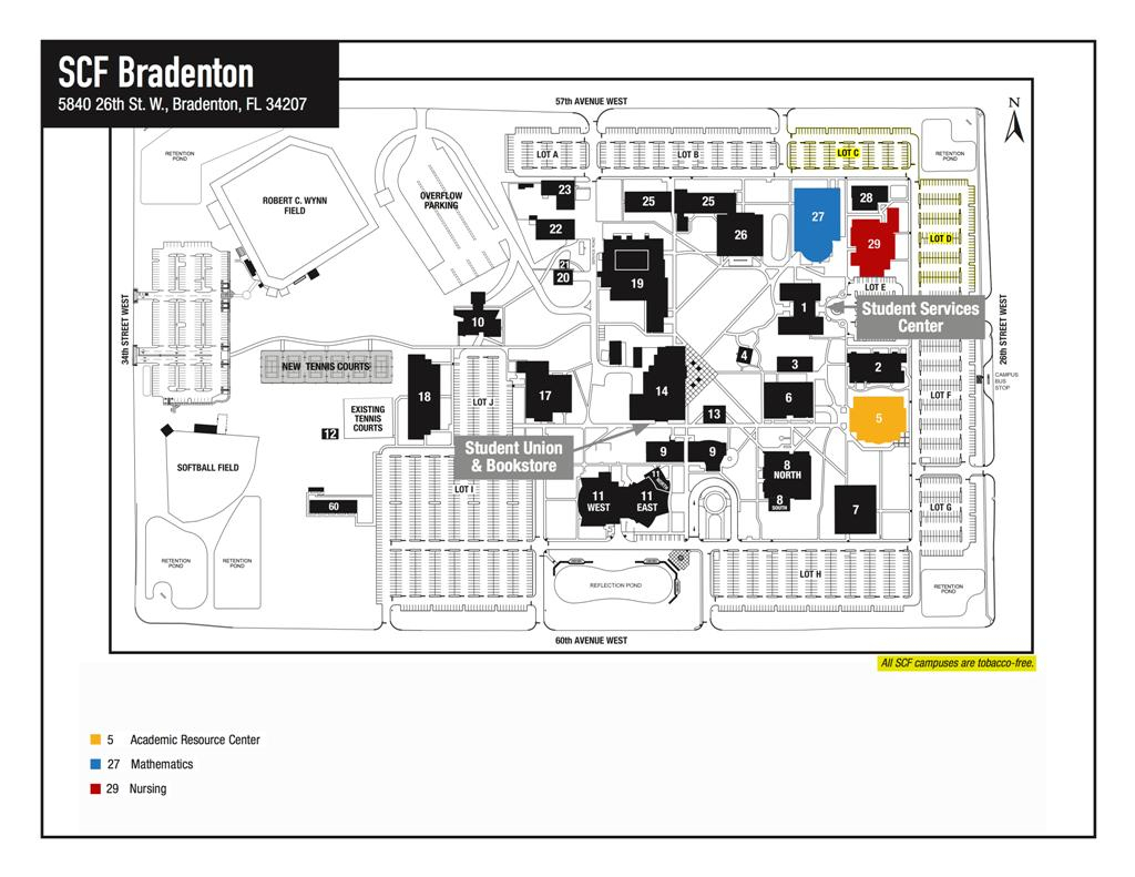 Maa Florida Section Suncoast Call For Papers - State College Of Florida Bradenton Campus Map