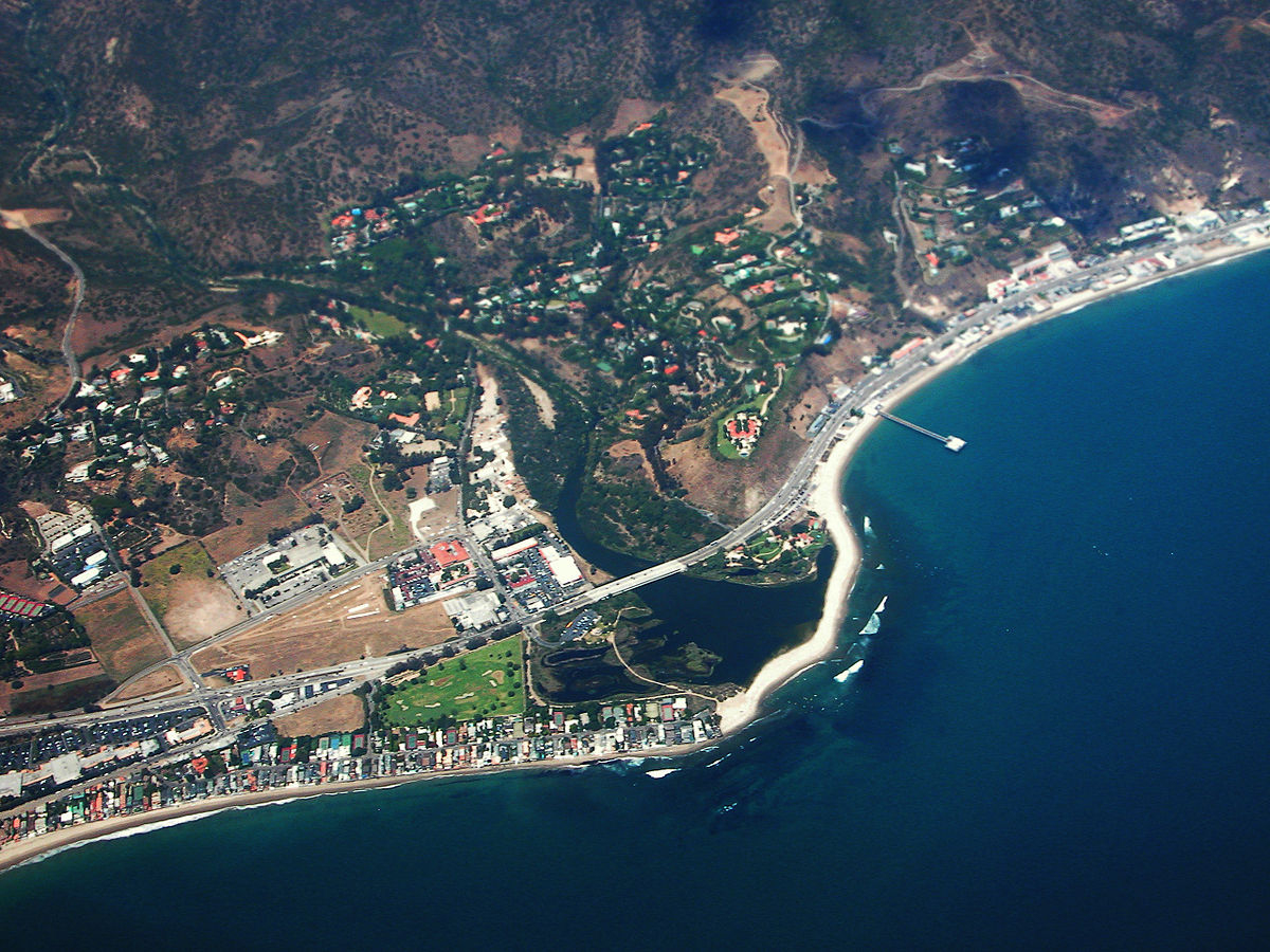 Malibu, California - Wikipedia - Malibu California Map