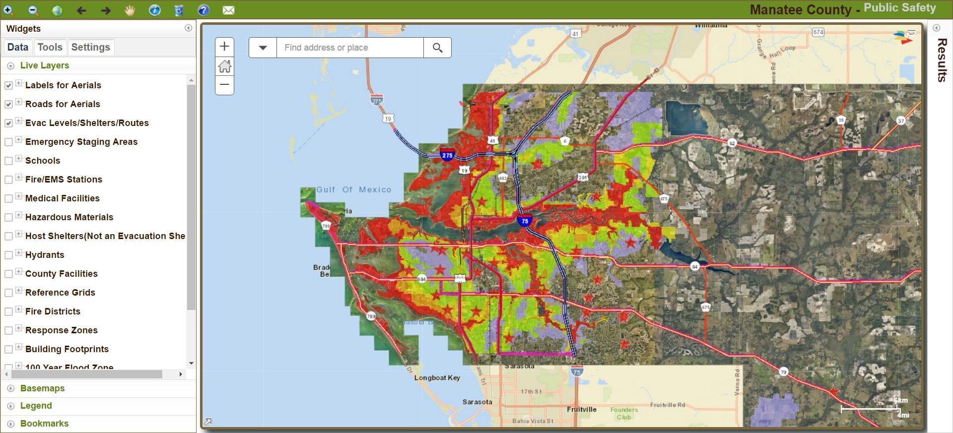 Manatee County Updates Hurricane Storm Surge Maps - News - Sarasota - Venice Florida Flood Map