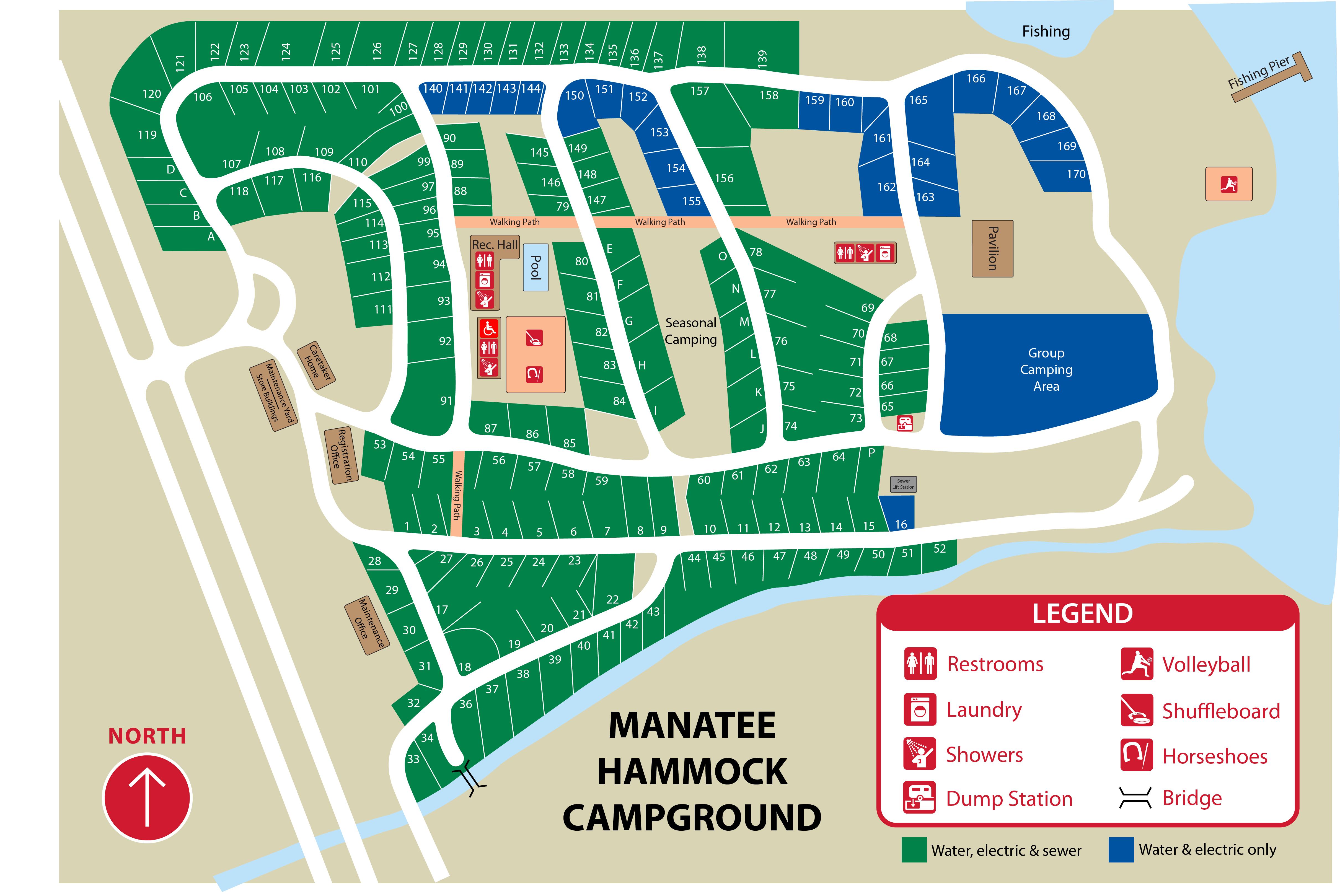 Manatee Hammock Park - Florida Camping Map