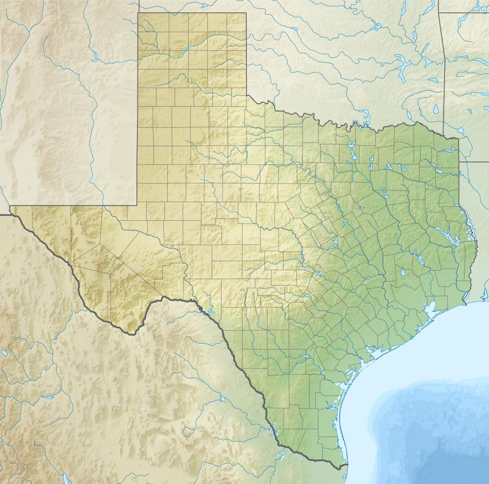 Mansfield Cut Underwater Archeological District - Wikipedia - Texas Gulf Coast Shipwrecks Map