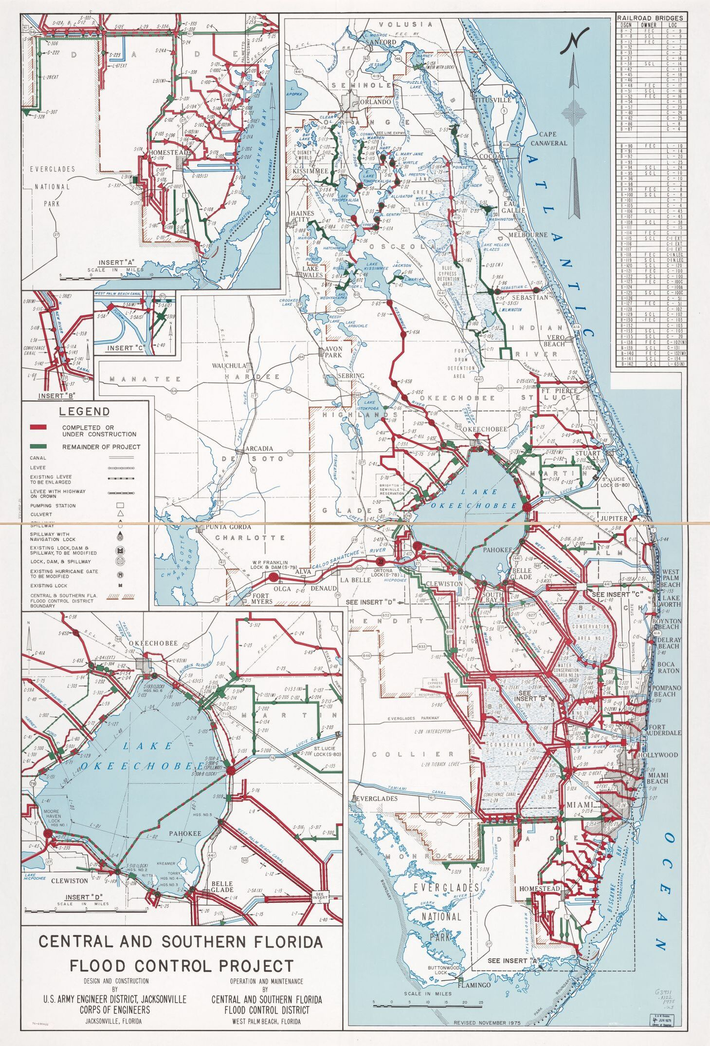 Map, 1970 To 1979, Florida | Library Of Congress - Naples Florida Attractions Map