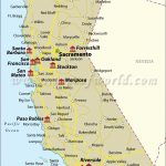 Map California Map Southern California Airports California State Map   Southern California Airports Map