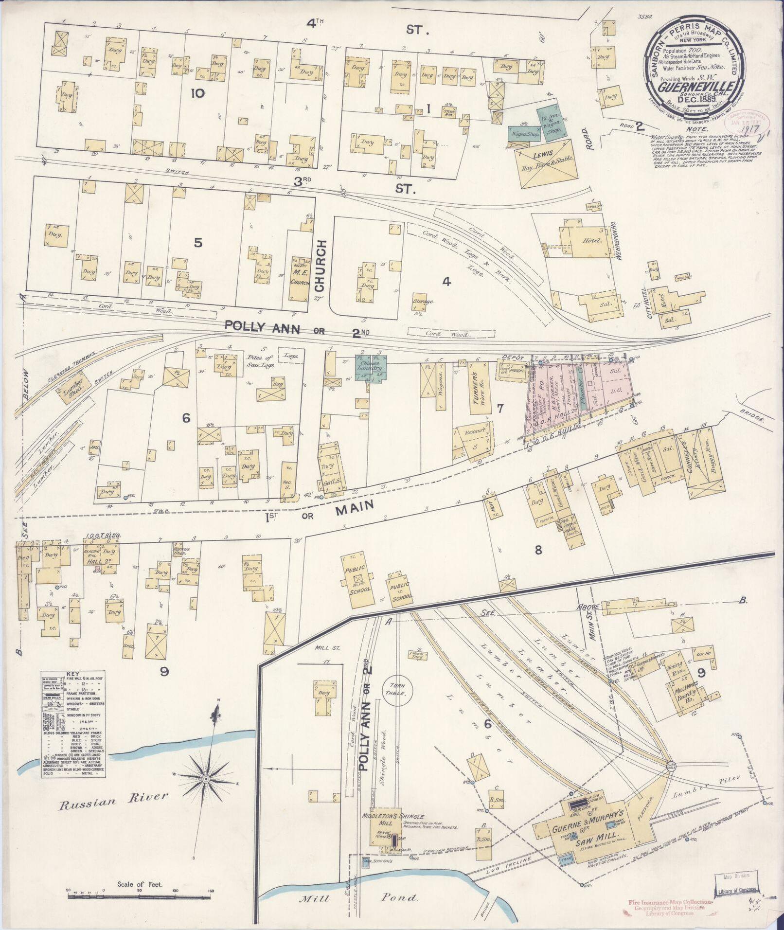 Map, California, Sonoma County | Library Of Congress - Thomas Guide Southern California Arterial Map