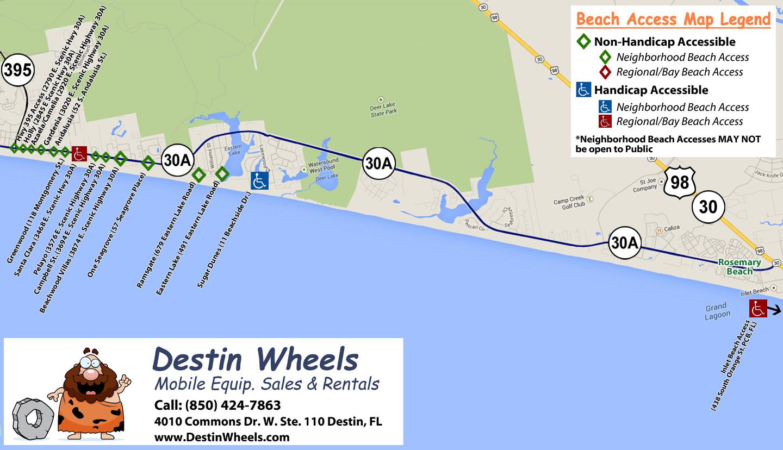 Map Destin Florida - Where Is Destin Beach Florida On The Map