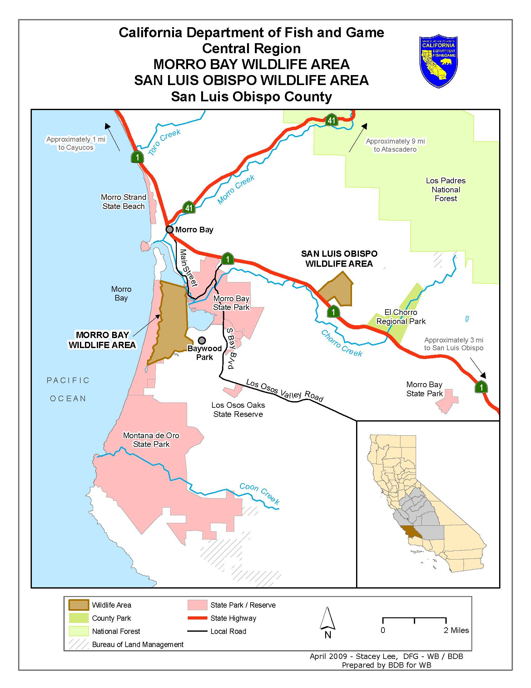 Map Directions Morro Bay | We've Moved To Www.legallabrador. - Morro Bay California Map