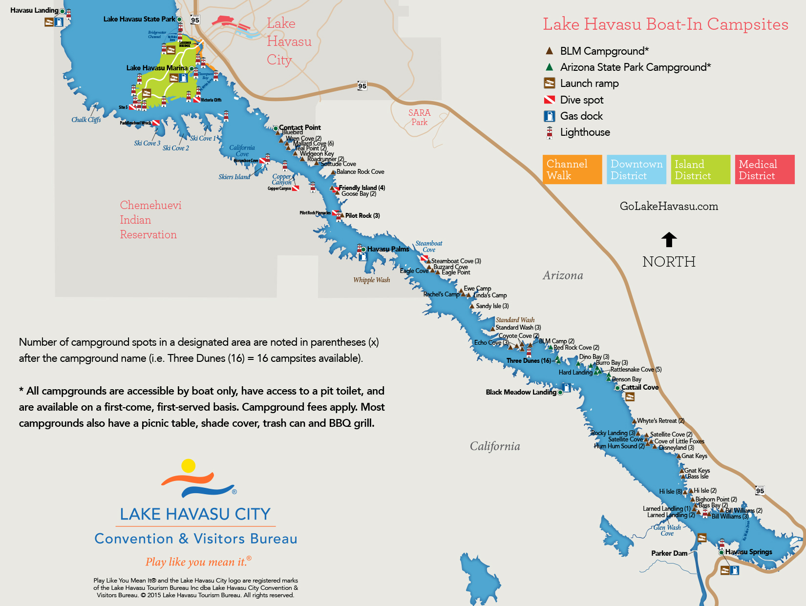 Map Downloads - Lake Havasu City - Bass Lake California Map