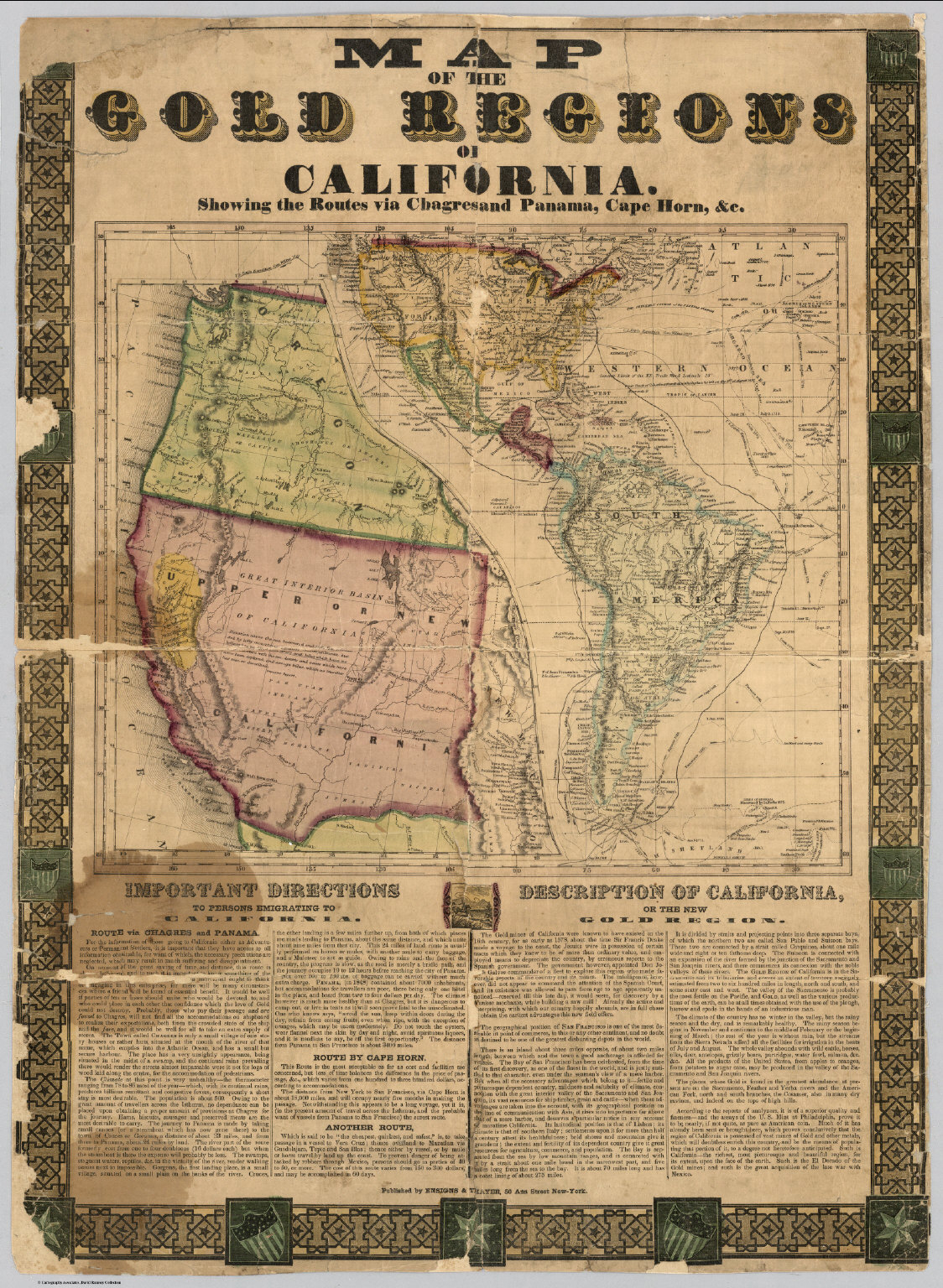 Map Hd Map Of California Gold Mines - Klipy - California Gold Mines Map