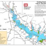Map | Lake O' The Pines   Corps Of Engineers Campgrounds Texas Map
