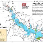Map | Lake O' The Pines   Texas Fishing Maps
