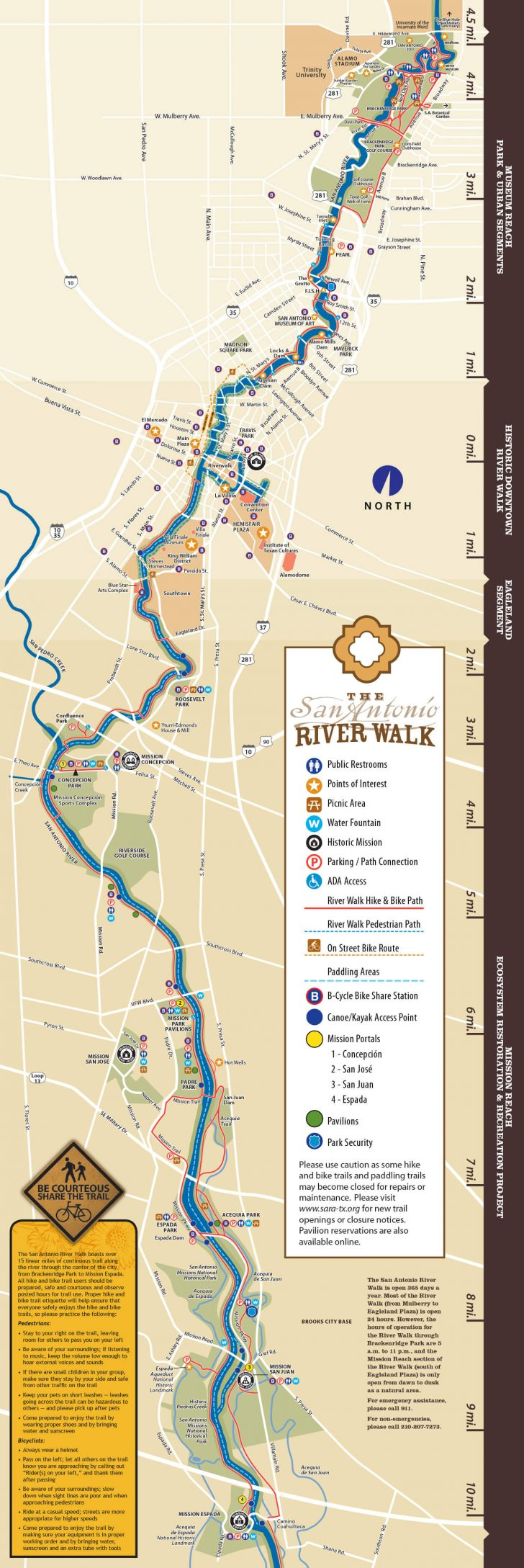 Map Of Hotels Near Riverwalk In San Antonio Texas