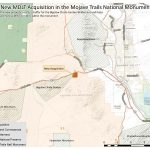 Map Mdlt Acquisition In Mojave Trails 121318   Mdlt   Mojave California Map