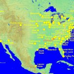Map Nuclear Power Plants In Us North America Luxury Map Nuclear   Power Plants In Texas Map