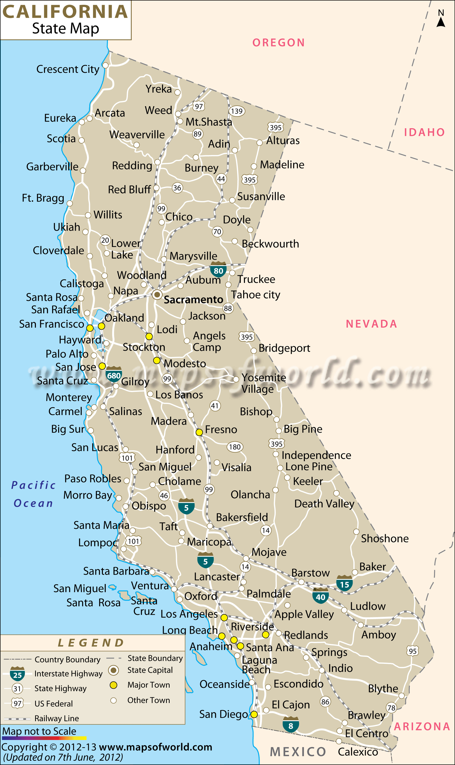Map O California State Map California Map Cities Google Maps - Where Can I Buy A Map Of California