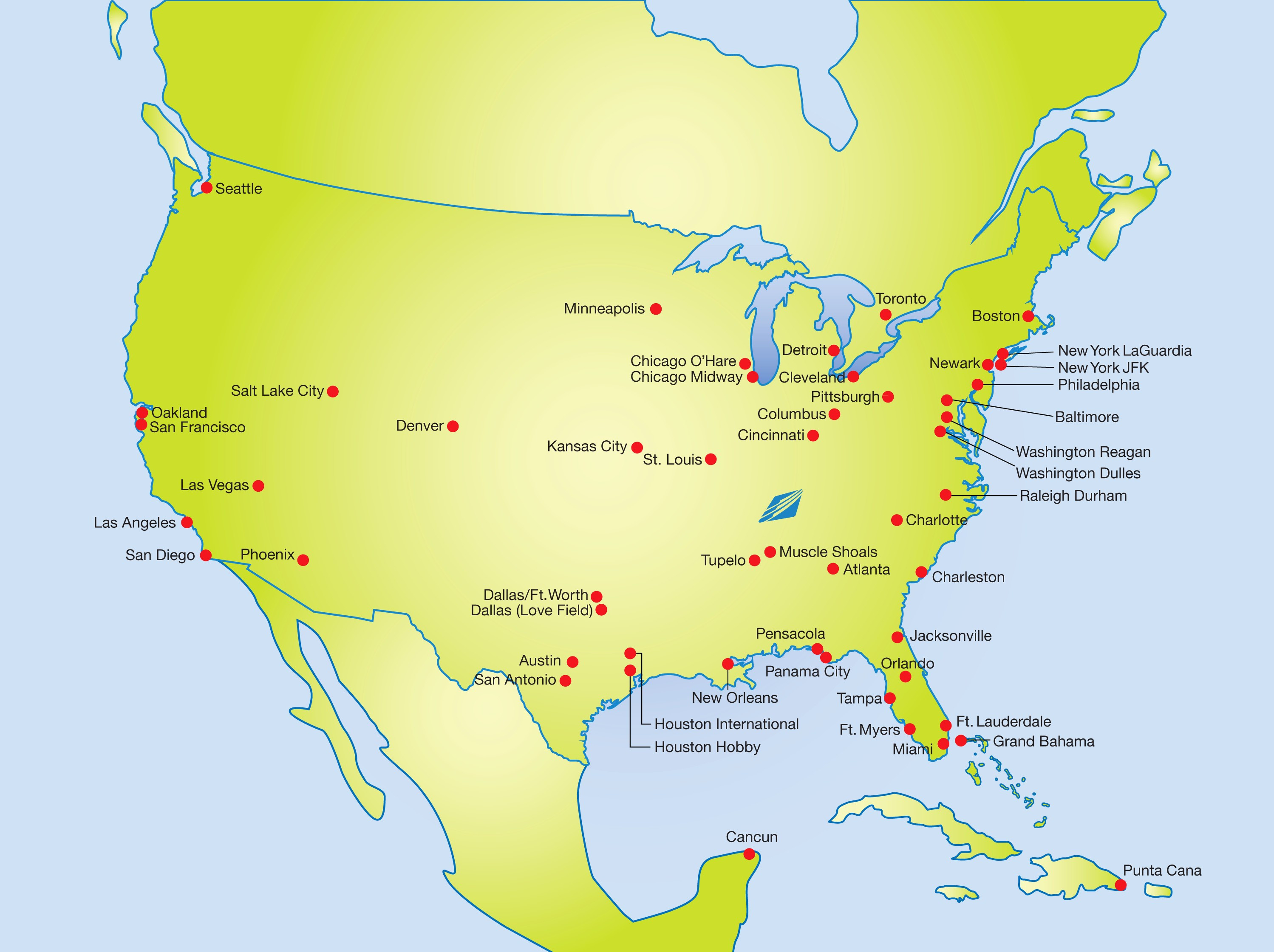 Map Of Airports In Southern California New Map Us Airports East - Southern California Airports Map
