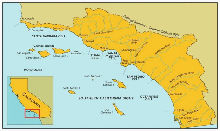 Map Of Southern California Beaches