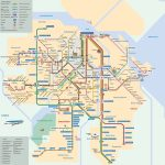 Map Of Amsterdam Tram: Stations & Lines   Amsterdam Tram Map Printable