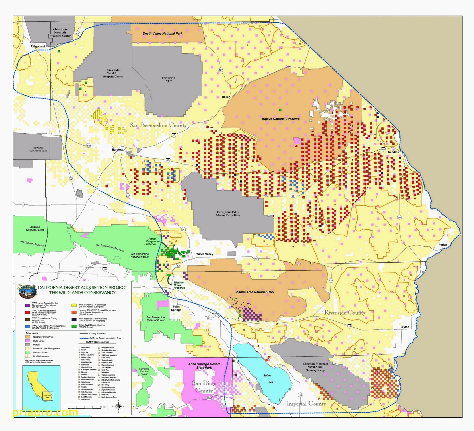 Map Of Blm Land California - Klipy - Blm Maps Southern California