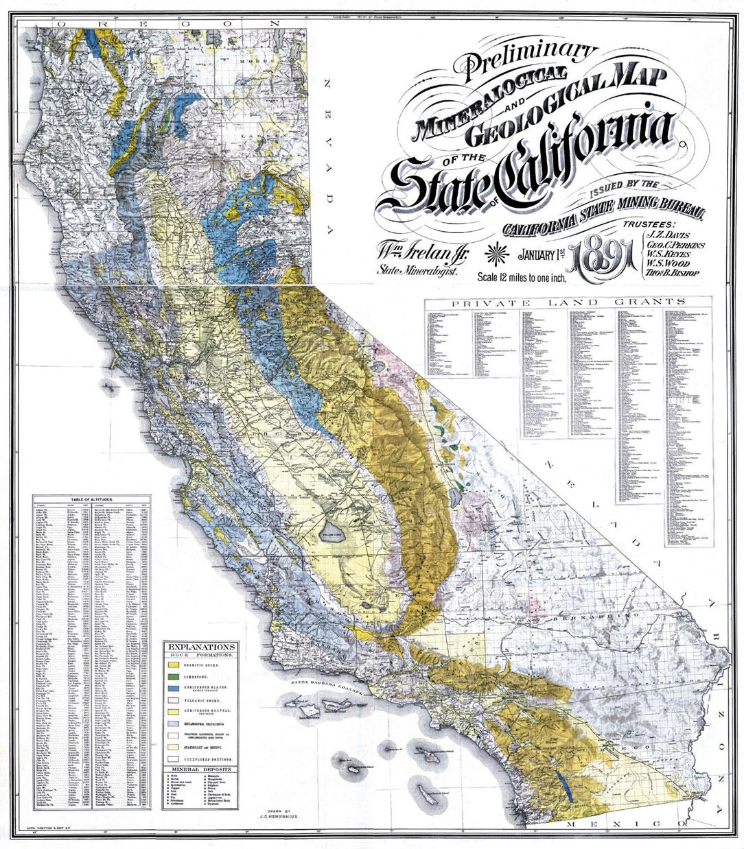 Map Of California Gold Mines - Klipy - Gold Prospecting Maps California