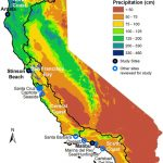 Map Of California Showing The 4 Coastal Hydrologic Regions (Hrs   Https Www Map Of California