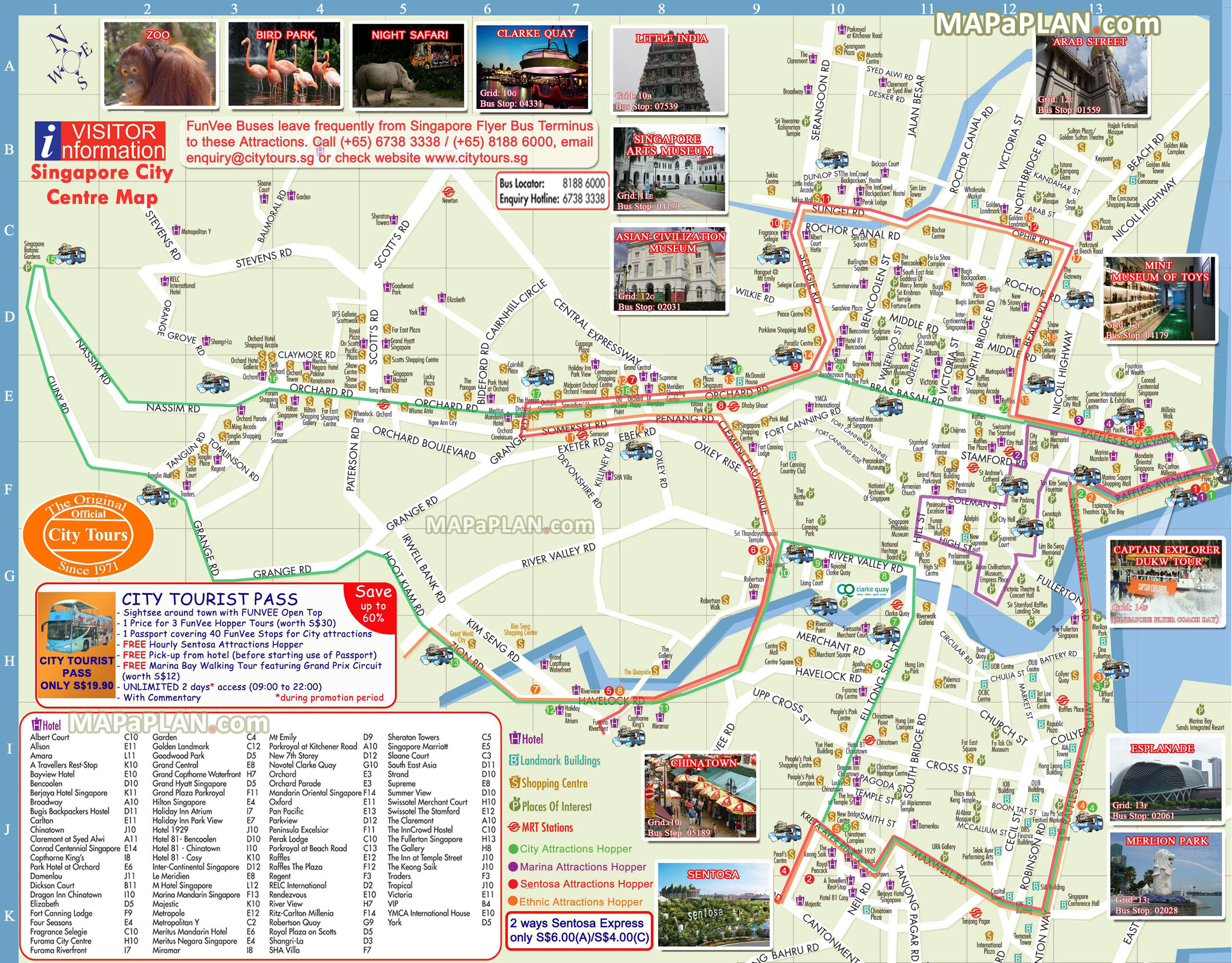 Map Of California Tourist Attractions New Singapore Maps Top Tourist - Singapore City Map Printable