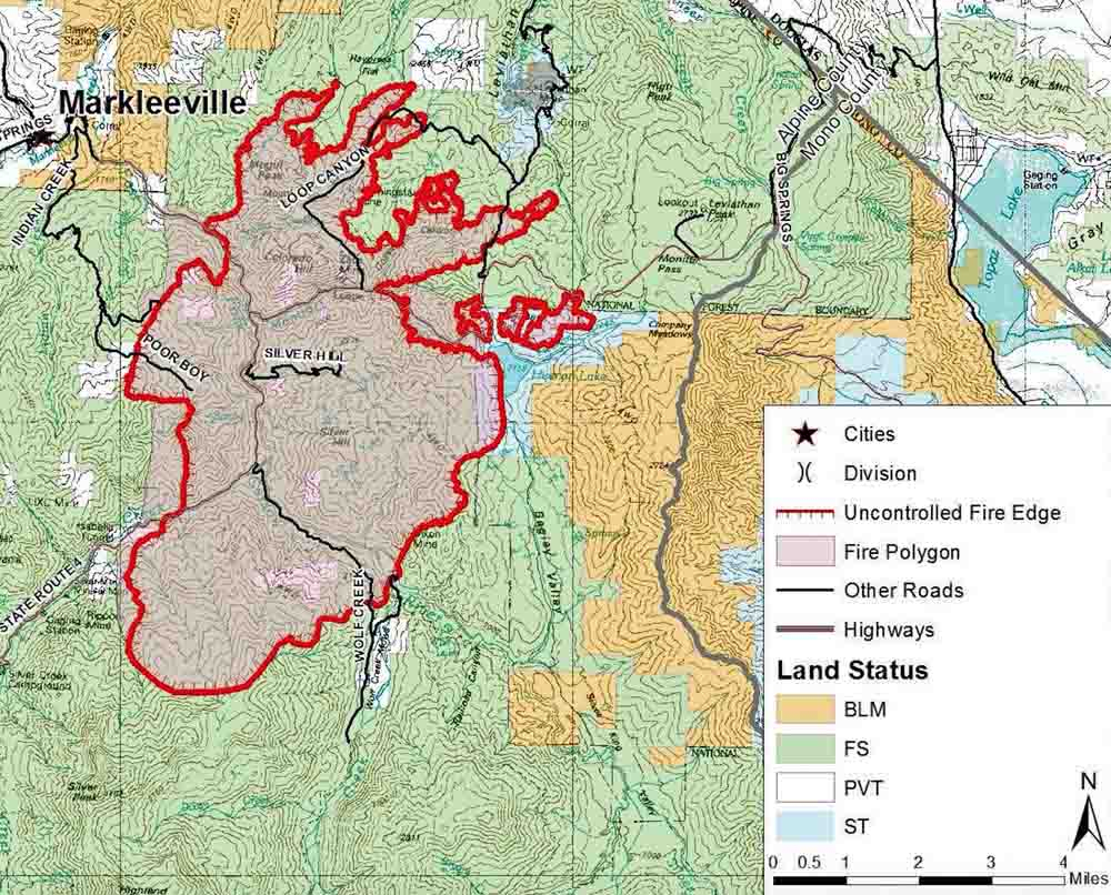 Map Of California Wild Fires - Klipy - California Fire Zone Map