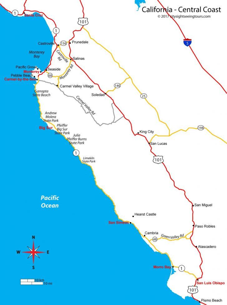 Big Map Of California