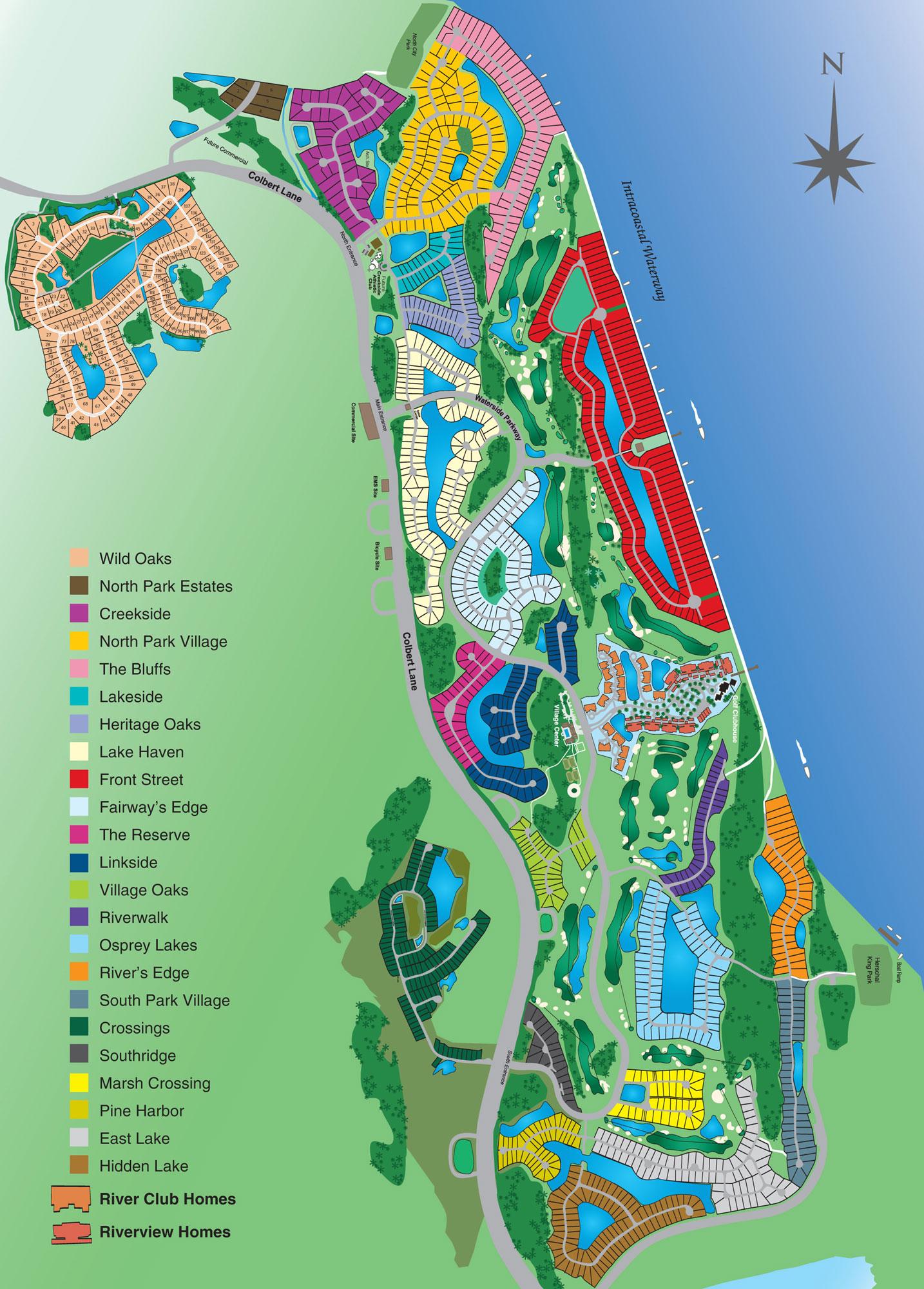 Map Of Coastal Florida And Travel Information   Download Free Map Of - Map Of Palm Coast Florida Area