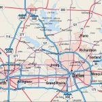 Map Of Dfw Area   Map Of Dfw Area Cities (Texas   Usa)   Map Of Fort Worth Texas Area