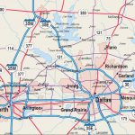 Map Of Dfw Metroplex   Map Dfw Metroplex (Texas   Usa)   Printable Map Of Dfw Metroplex