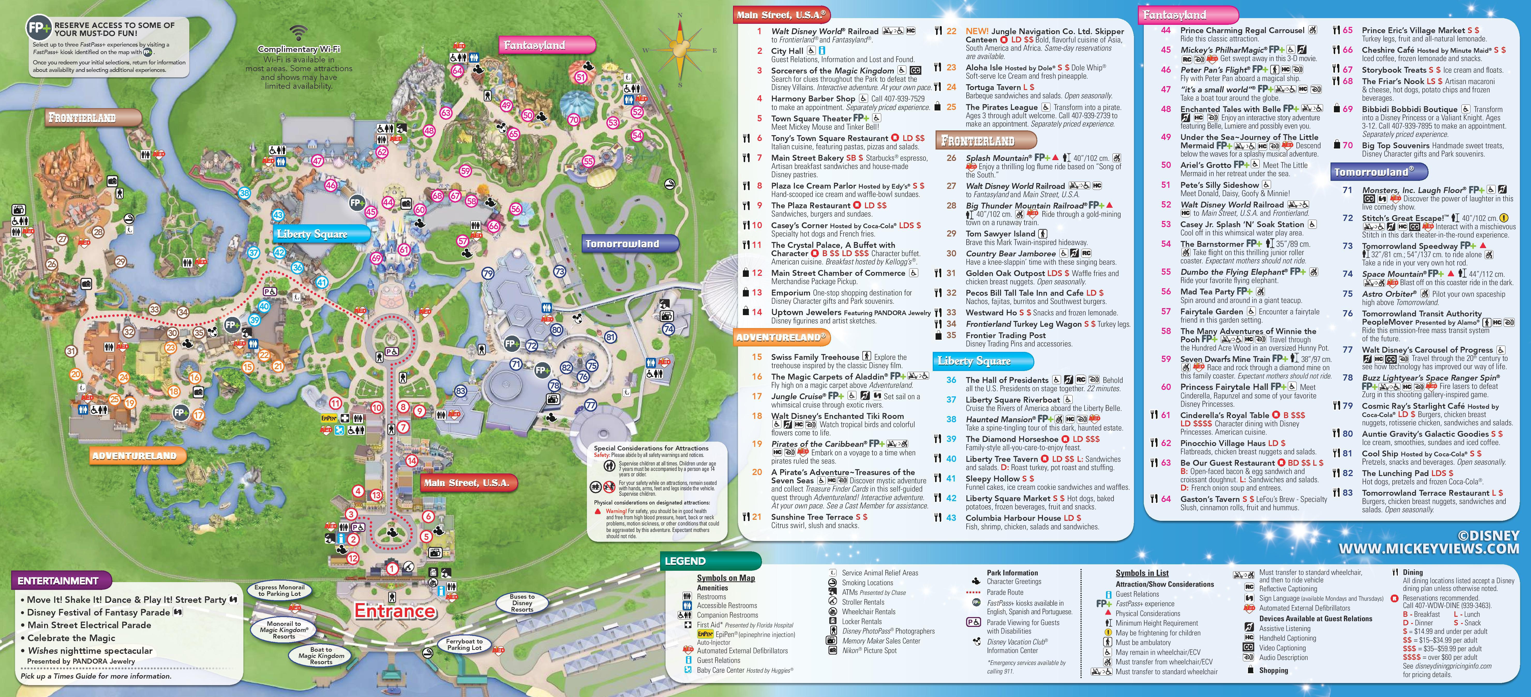 Map Of Disney World Hotels And Theme Parks Maps Of Disneyland Resort - Disney Hotels Florida Map