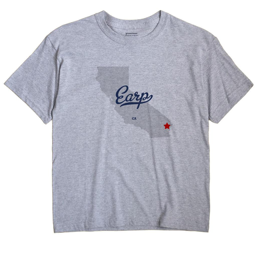 Map Of Earp, Ca, California - Earp California Map