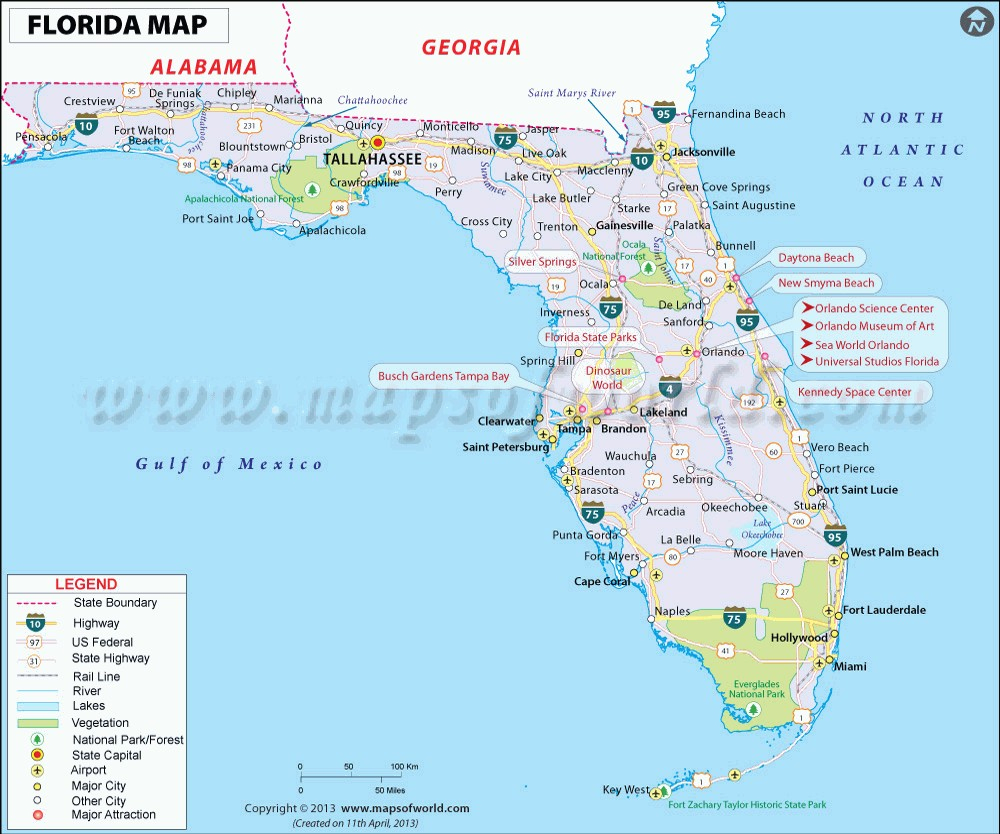 Map Of Florida Cities On Gulf Coast | Globalsupportinitiative - Florida Gulf Coastline Map