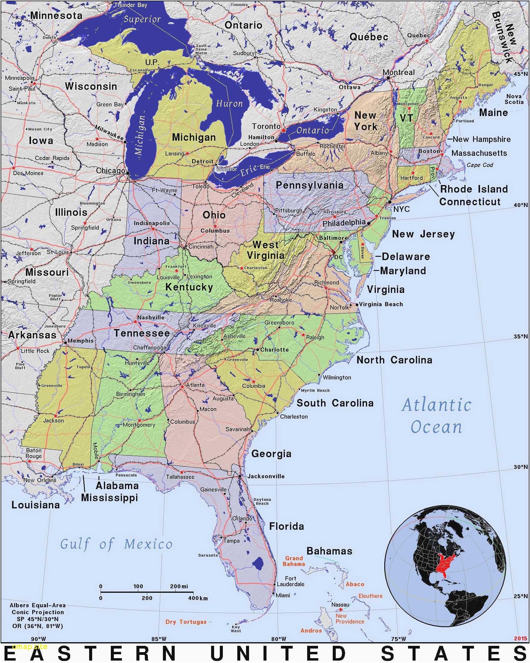 Map Of Florida East Coast Beaches - Florida East Coast Beaches Map