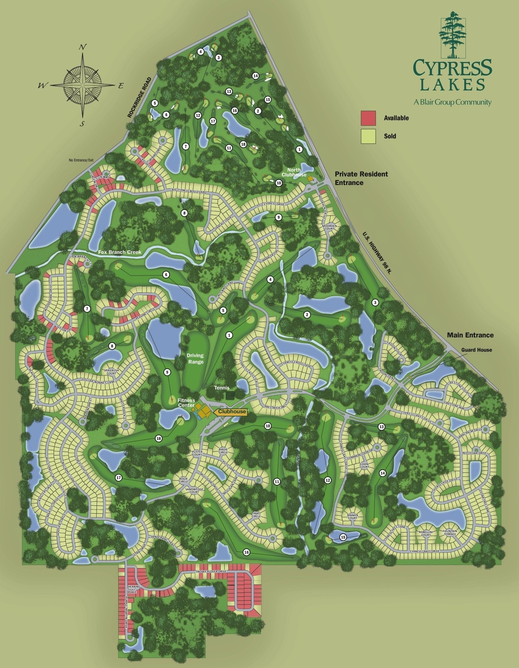 Map Of Florida Golf Courses | Globalsupportinitiative - Florida Golf Courses Map