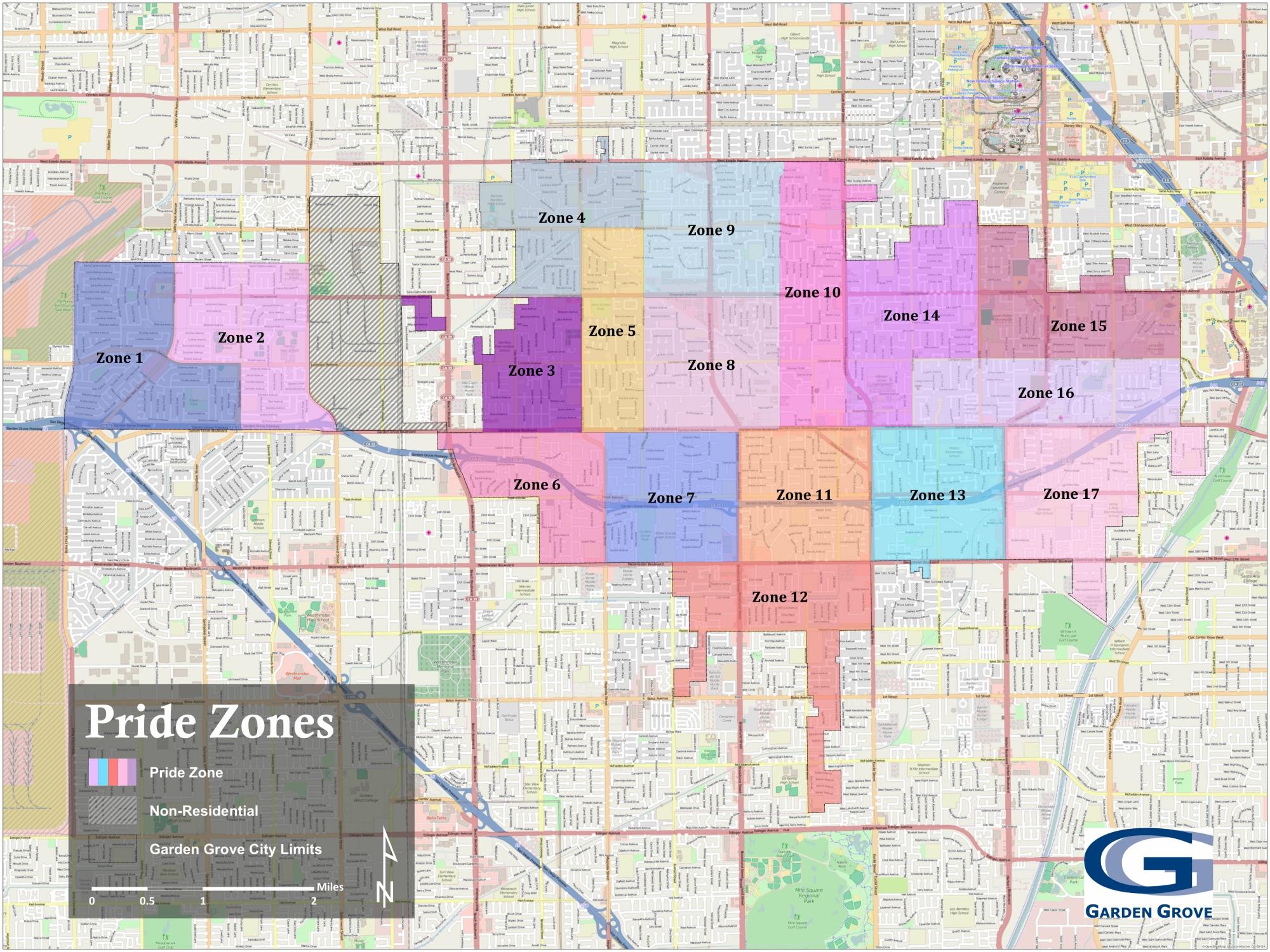 Map Of Garden Grove California - Klipy - Where Is Garden Grove California On The Map