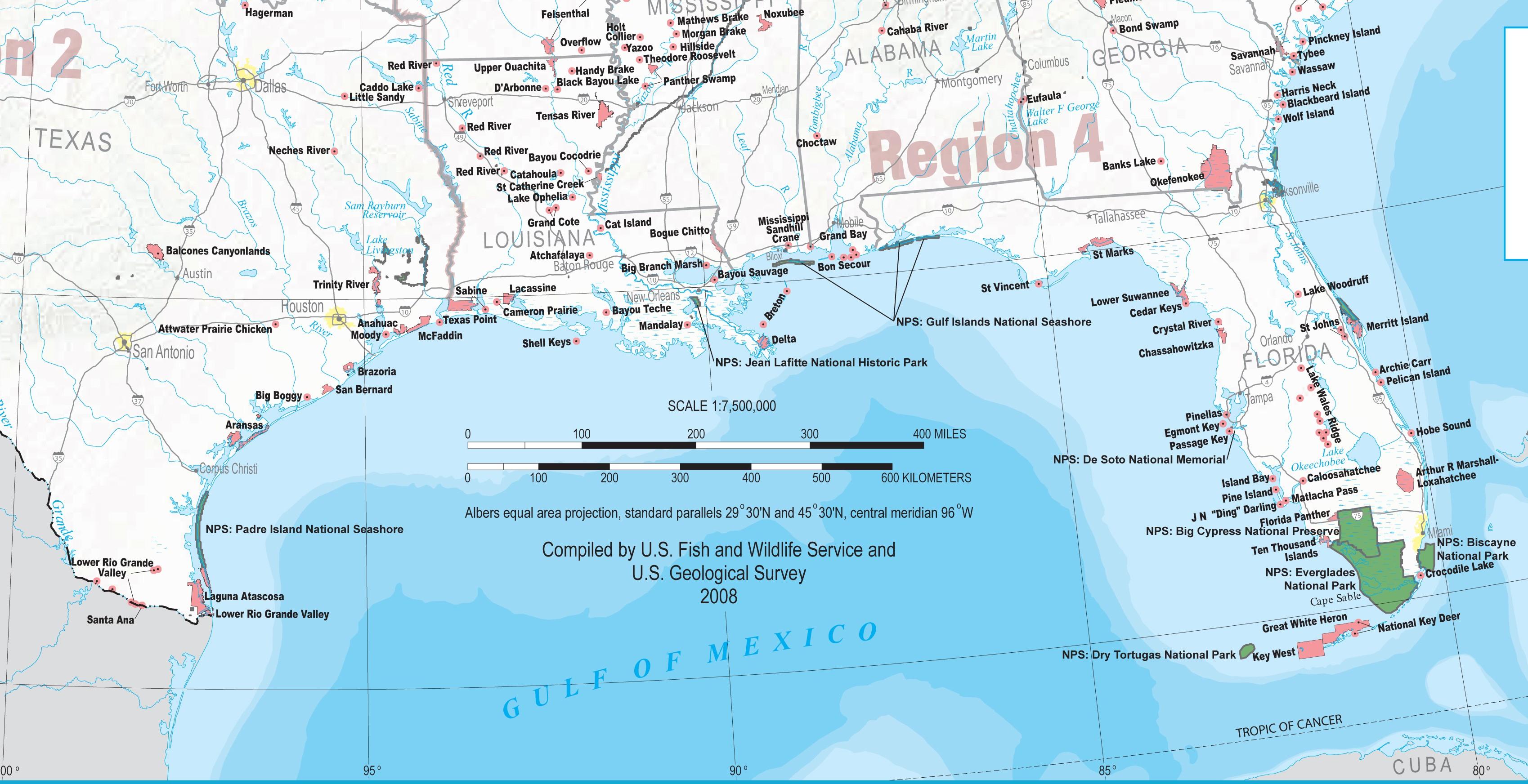 Map Of Gulf Coast Cities | Sitedesignco - Map Of Florida Gulf Side