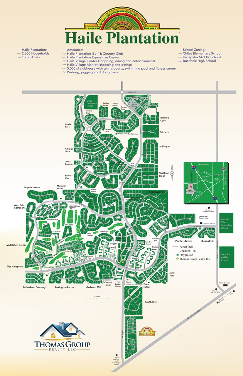 Map Of Haile Plantation Gainesville Fl | Gainesville Homes For Sale - Where Is Gainesville Florida On The Map