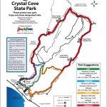 Map Of Hiking Trails | Crystal Cove   Laguna Beach California Map