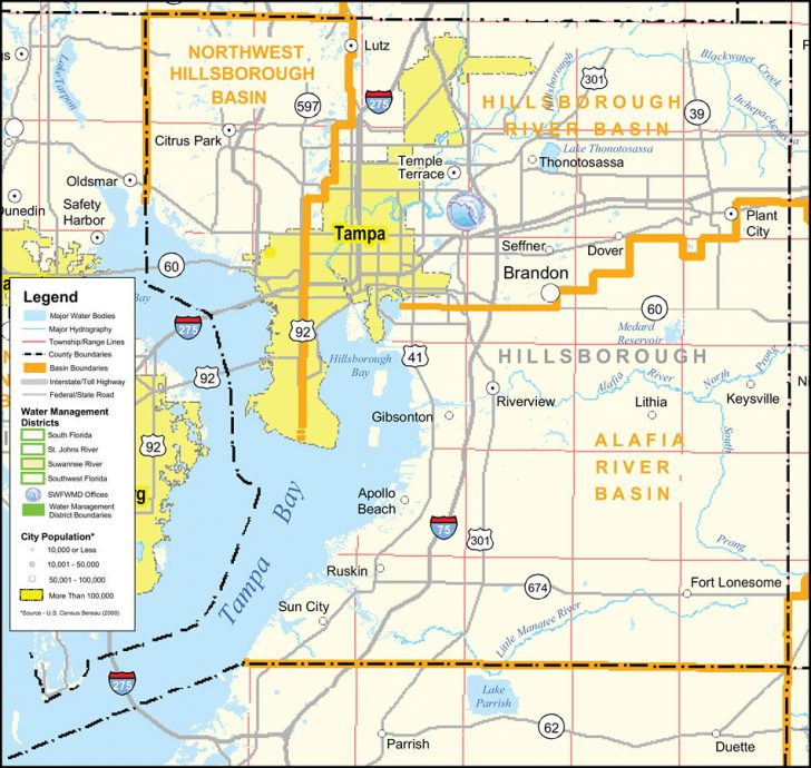 Flood Zone Map Hillsborough County Florida