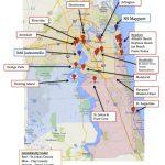 Map Of Jacksonville & Mayport, Florida | Military Town Advisor   Fleming Island Florida Map