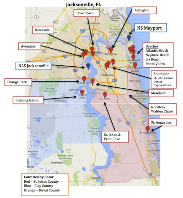 St Leo Florida Map