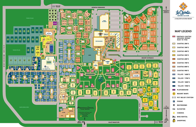 Map Of La Quinta California - Klipy - La Quinta California Map