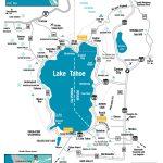 Map Of Lake Tahoe California   Klipy   Map Of Lake Tahoe Area California