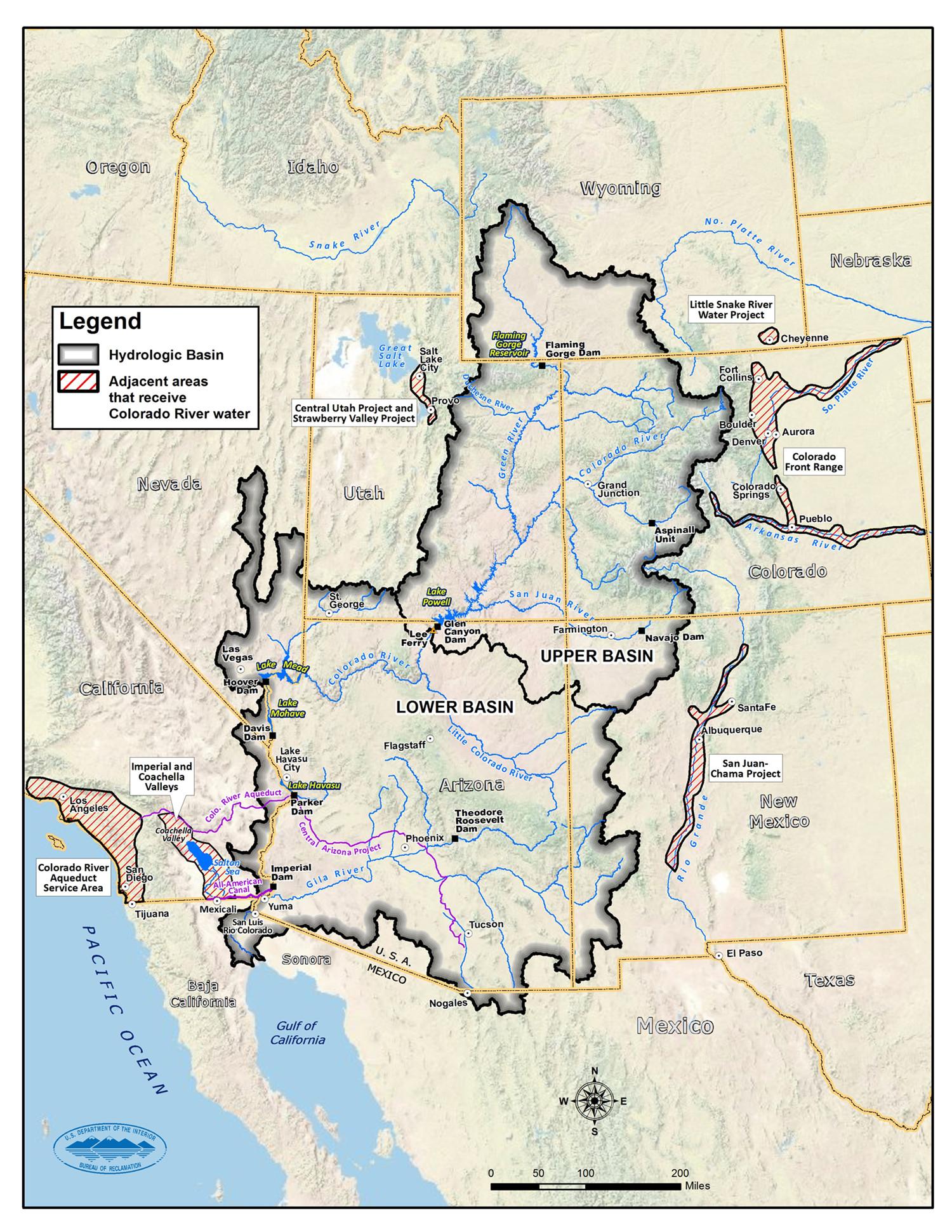 Map Of Las Vegas And California Printable En California Reservoirs - Map Of Las Vegas And California