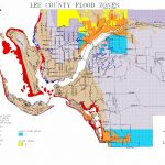 Map Of Lee County Flood Zones   100 Year Flood Map Florida